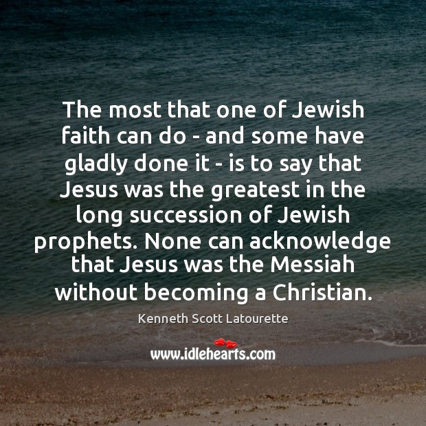The most that one of Jewish faith can do – and some Image