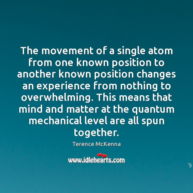 The movement of a single atom from one known position to another Image