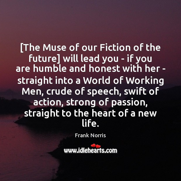 [The Muse of our Fiction of the future] will lead you – Image