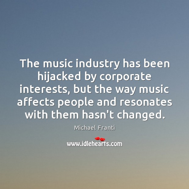 The music industry has been hijacked by corporate interests, but the way Image