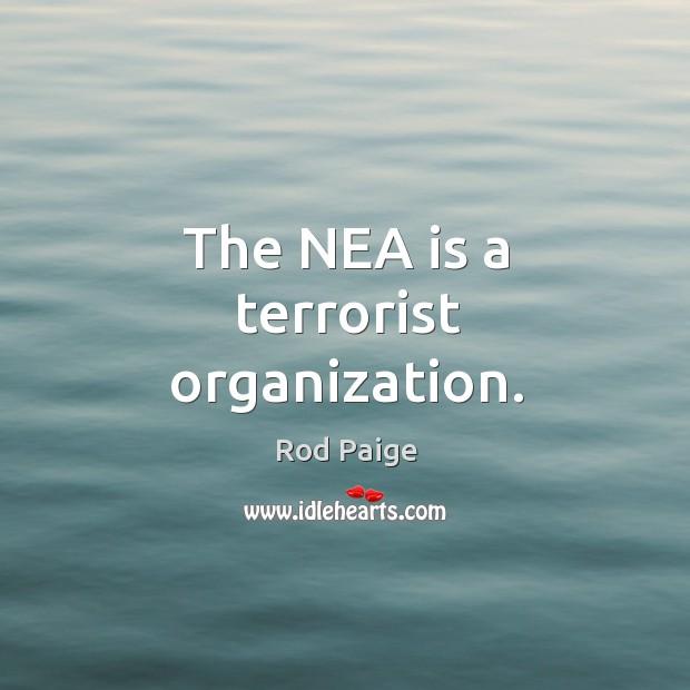 The NEA is a terrorist organization. Image