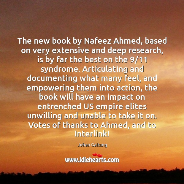 Image, The new book by Nafeez Ahmed, based on very extensive and deep