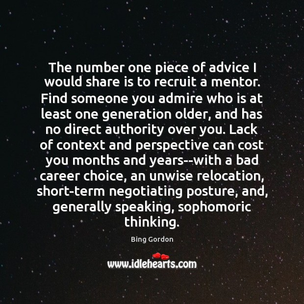Image, The number one piece of advice I would share is to recruit