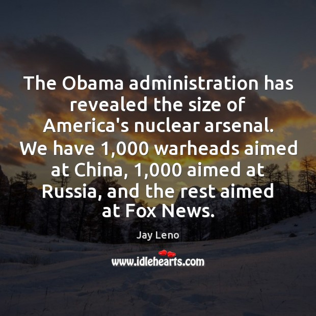 Image, The Obama administration has revealed the size of America's nuclear arsenal. We