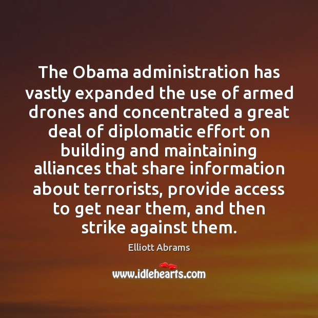 The Obama administration has vastly expanded the use of armed drones and Image