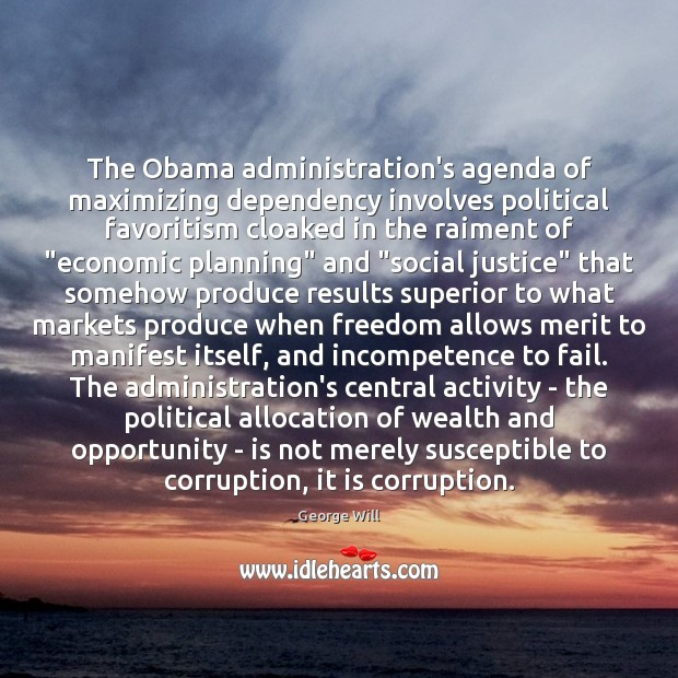 Image, The Obama administration's agenda of maximizing dependency involves political favoritism cloaked in