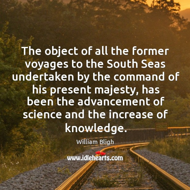 Image, The object of all the former voyages to the south seas undertaken by the command of his present majesty