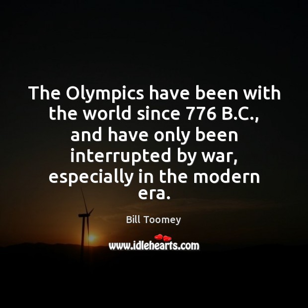 Image, The Olympics have been with the world since 776 B.C., and have