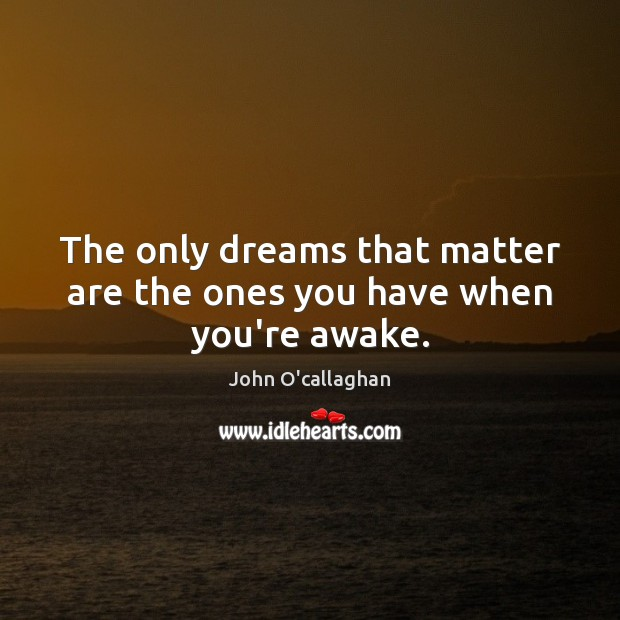 analysis of dreams that matter by