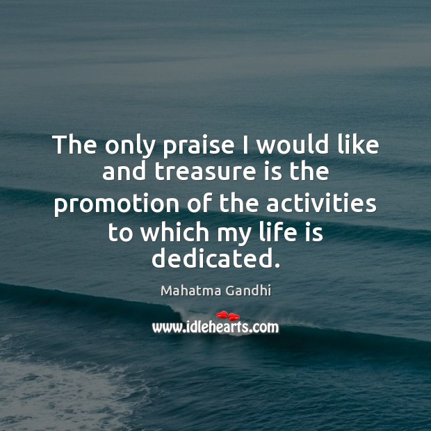 Image, The only praise I would like and treasure is the promotion of