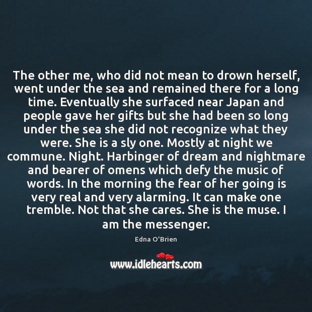 The other me, who did not mean to drown herself, went under Image