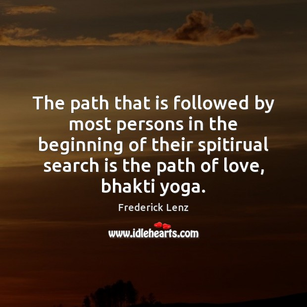 The path that is followed by most persons in the beginning of Image