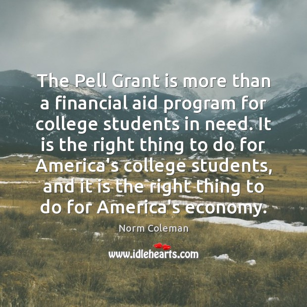 Image, The Pell Grant is more than a financial aid program for college