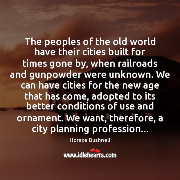 Image, The peoples of the old world have their cities built for times