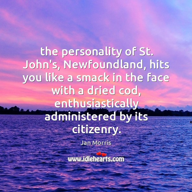 The personality of St. John's, Newfoundland, hits you like a smack in Image