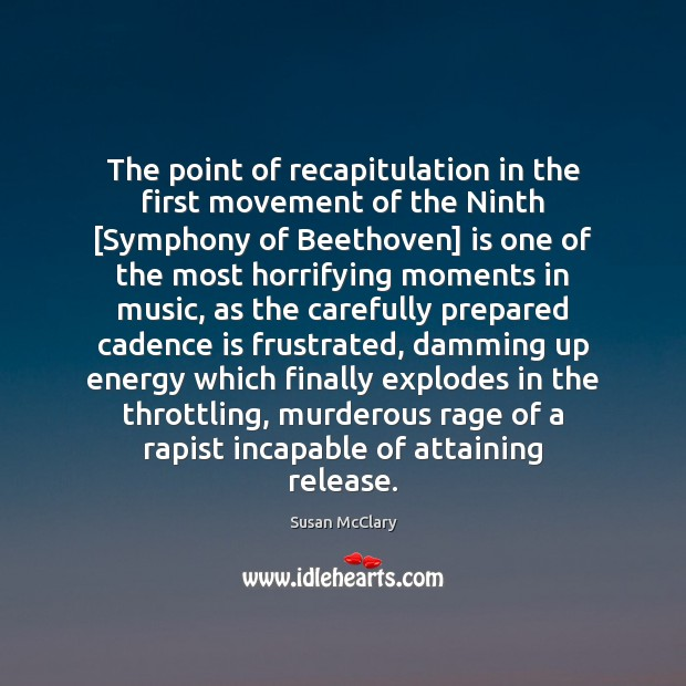 Image, The point of recapitulation in the first movement of the Ninth [Symphony
