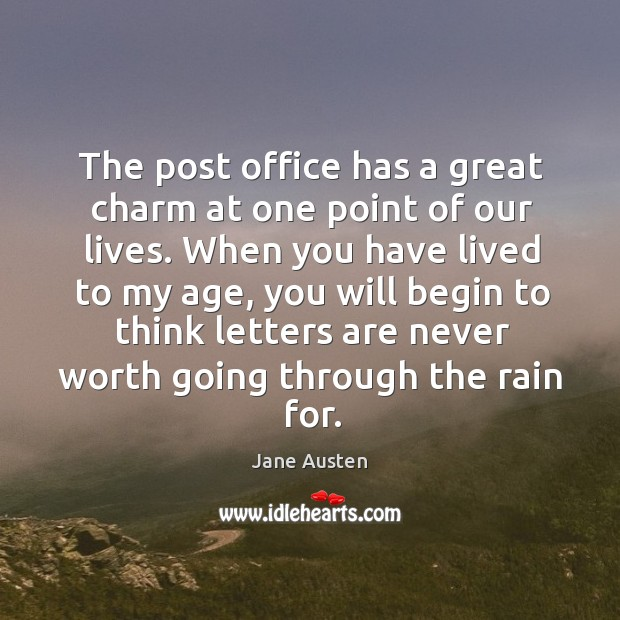 Image, The post office has a great charm at one point of our lives.