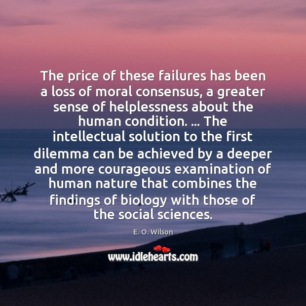 Image, The price of these failures has been a loss of moral consensus,