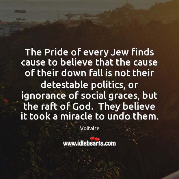 Image, The Pride of every Jew finds cause to believe that the cause
