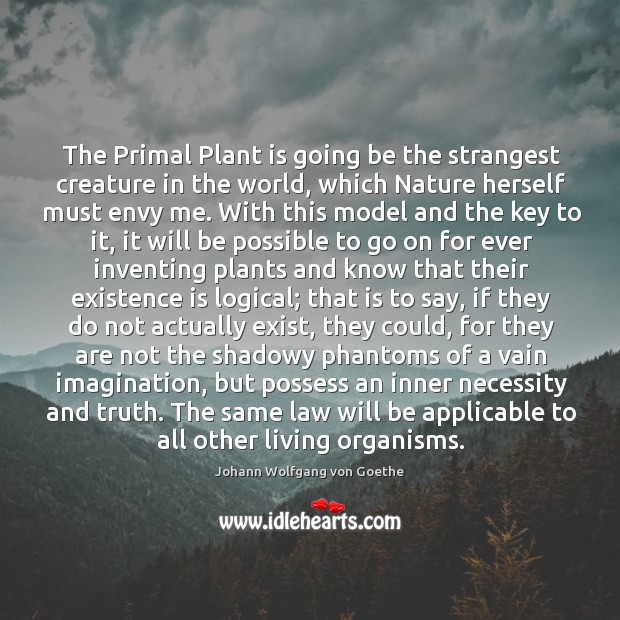 The Primal Plant is going be the strangest creature in the world, Image
