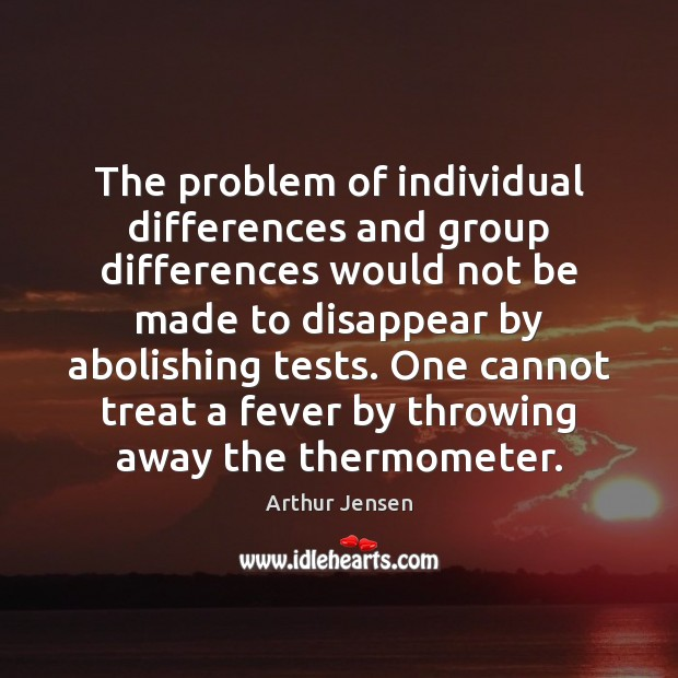 Image, The problem of individual differences and group differences would not be made
