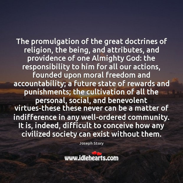 The promulgation of the great doctrines of religion, the being, and attributes, Image