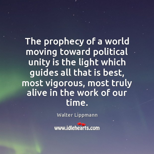 Picture Quote by Walter Lippmann