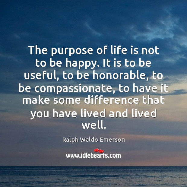 essay on the purpose of life is to be happy What is the meaning of life this earthly world is a place of spiritual training for the soul and spiritual development is the purpose and meaning of human life.