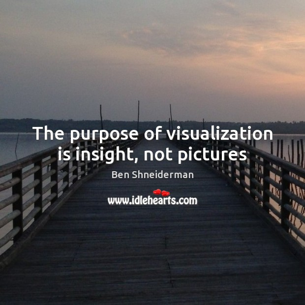 Image, The purpose of visualization is insight, not pictures