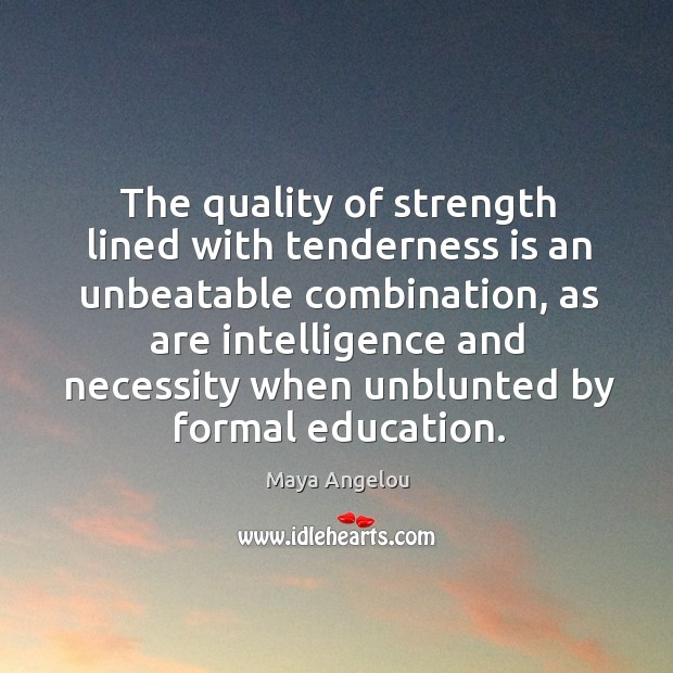 The quality of strength lined with tenderness is an unbeatable combination, as Image