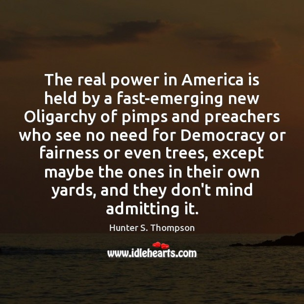 Image, The real power in America is held by a fast-emerging new Oligarchy