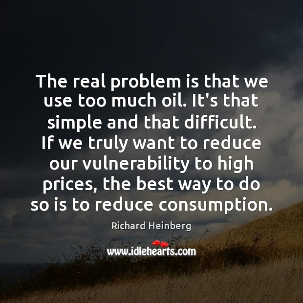 Picture Quote by Richard Heinberg