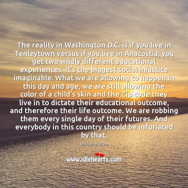 The reality in Washington D.C. is if you live in Tenleytown Image