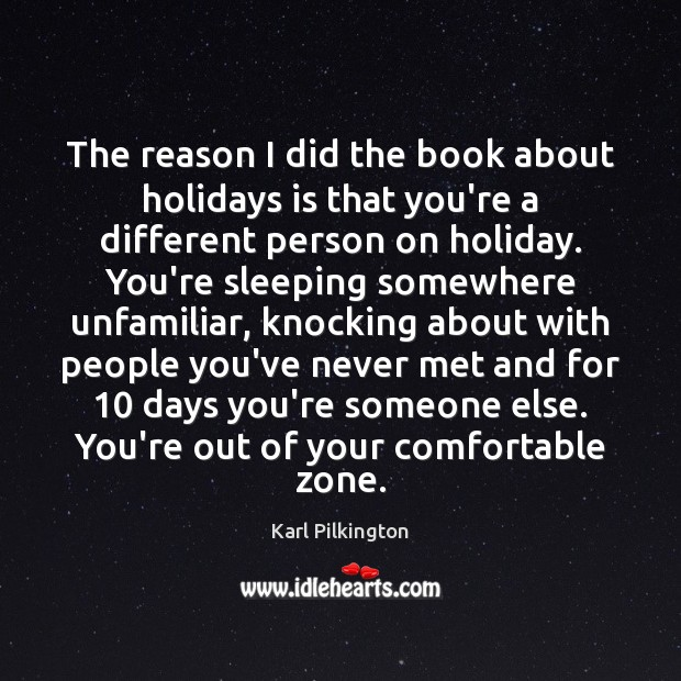 The reason I did the book about holidays is that you're a Holiday Quotes Image