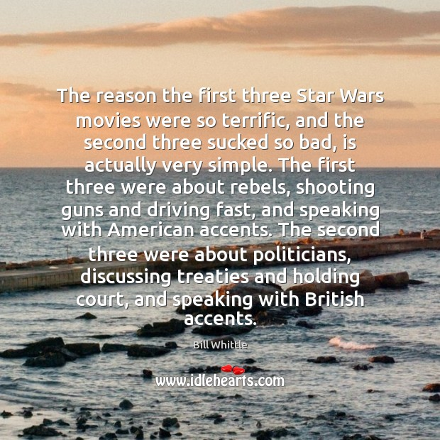 Image, The reason the first three Star Wars movies were so terrific, and