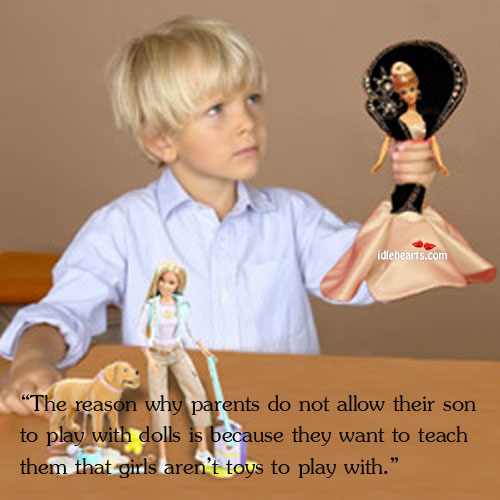 "Image, ""the reason why parents do not allow their son to play"