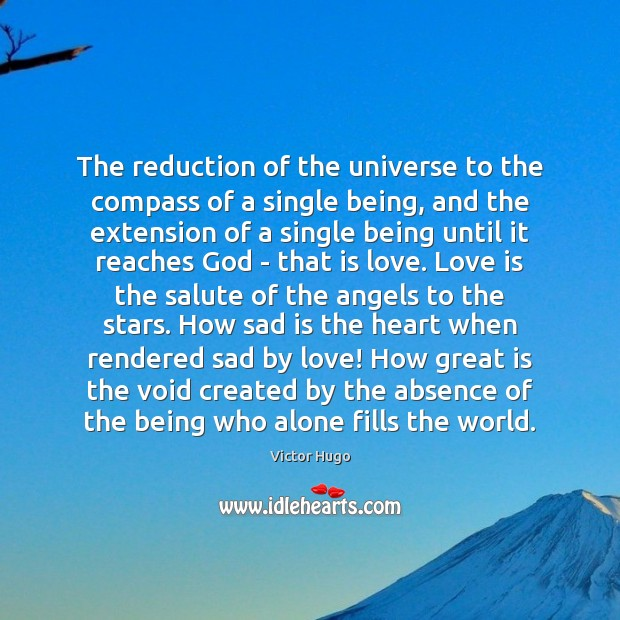 The reduction of the universe to the compass of a single being, Image