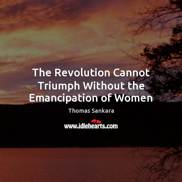 The Revolution Cannot Triumph Without the Emancipation of Women Image