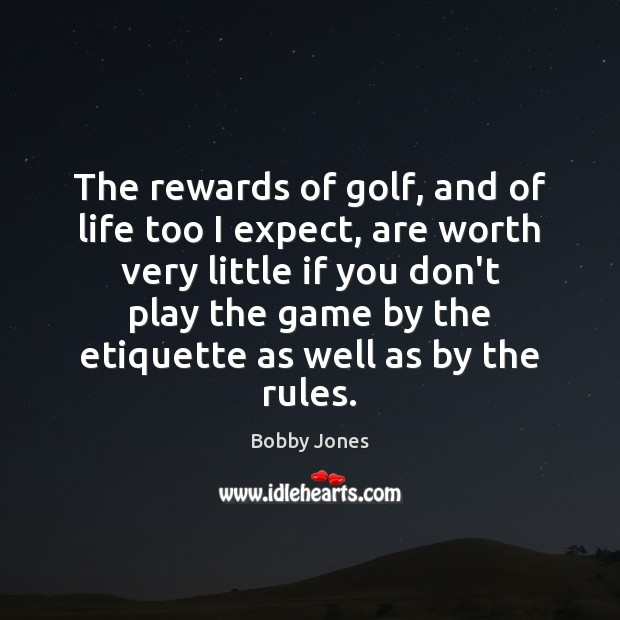 Image, The rewards of golf, and of life too I expect, are worth