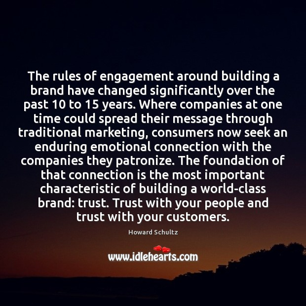 The rules of engagement around building a brand have changed significantly over Image