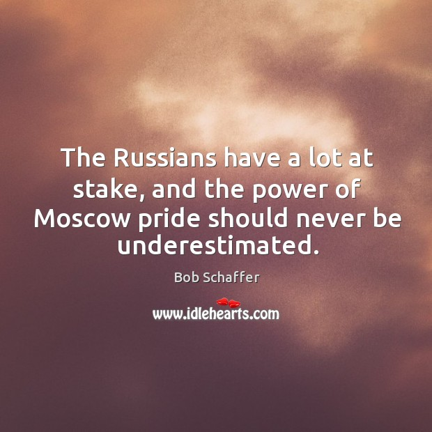 Image, The russians have a lot at stake, and the power of moscow pride should never be underestimated.