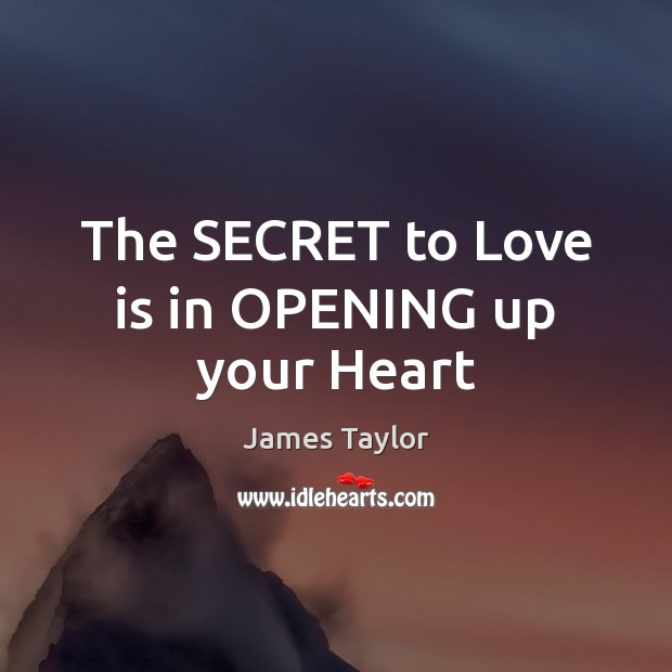 The SECRET to Love is in OPENING up your Heart Image