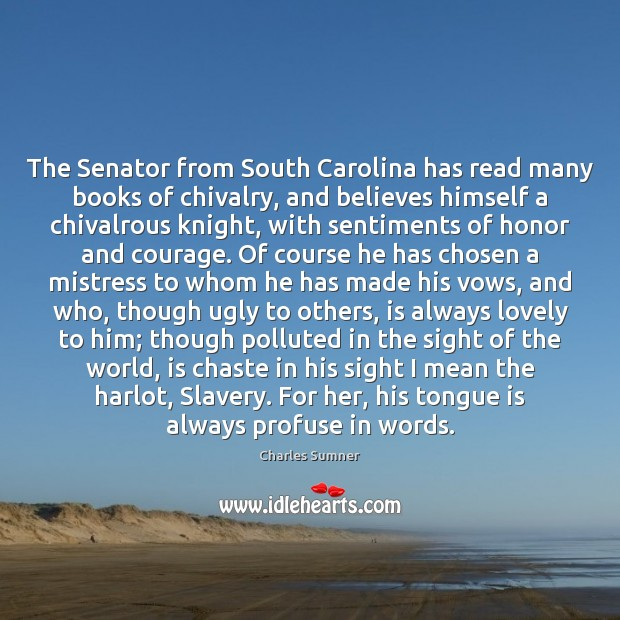 Picture Quote by Charles Sumner