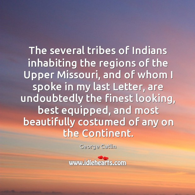 The several tribes of indians inhabiting the regions of the upper missouri, and of whom Image