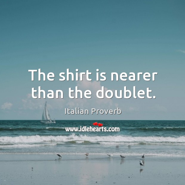 Image, The shirt is nearer than the doublet.
