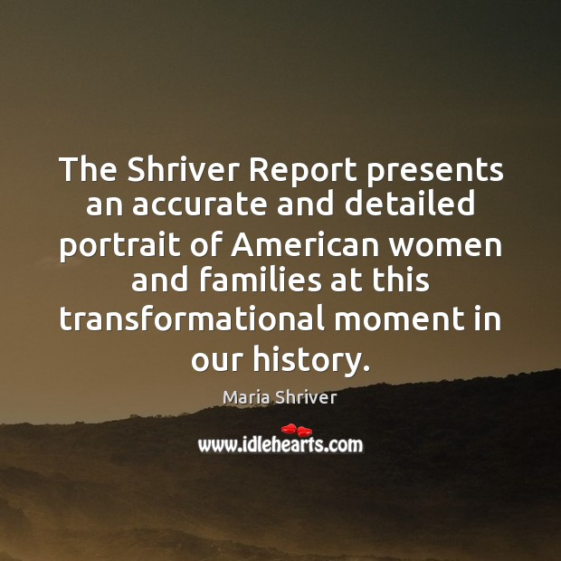The Shriver Report presents an accurate and detailed portrait of American women Image
