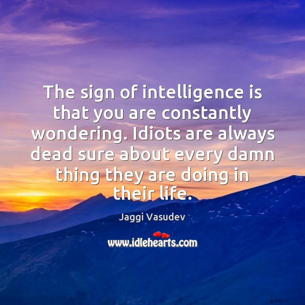 Intelligence Quotes