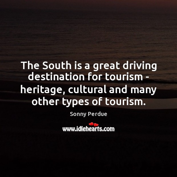 The South is a great driving destination for tourism – heritage, cultural Image