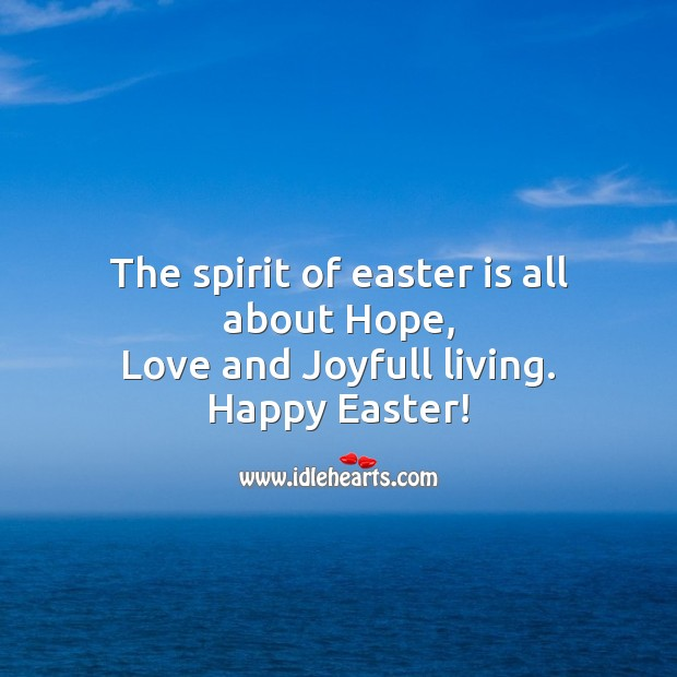 Image, The spirit of easter is all about hope