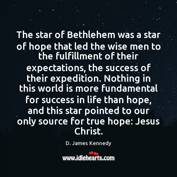 Image, The star of Bethlehem was a star of hope that led the